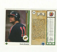 25 count lot 1989 Upper Deck Dante Bichette Rookie Cards ROCKIES OF! RC LOT #24