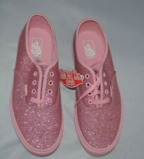 Vans Size 4 Pink   Brand New FREE POST  Authentic  Bright Pink Shimmer