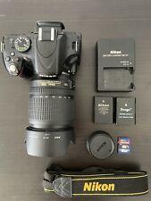 Nikon D D5100 16.2MP Digital SLR Camera - Black (Kit w/ AF-S DX VR ED G 18-105mm