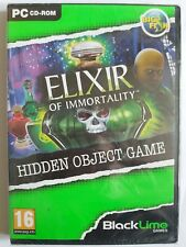 Elixir Of Immortality - Big Fish PC Hidden Object Game - New & Sealed