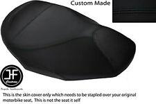 BLACK VINYL CUSTOM FITS GILERA NEXUS 500 03-05 FRONT SEAT COVER