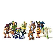 13X Toys Scooby Doo Frankensteion Pirate Daphne Captain Pirate Shaggy Dog Figure