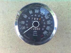 Jaguar Tacho Jaeger 200 km/h 120 mph Oldtimer