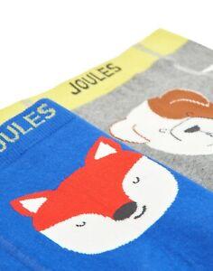 JOULES Tom Joule Baby 2er Pack Strick-Leggings Hund  Gr. 1 - 12 Monate NEU