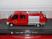 DEL PRADO 2002 VPI FIAT DUCATO FIRE ENGINE SAPEURS POMPIERS 1/57
