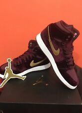 *** Nike Air Jordan Retro 1 High Premium Heiress Velvet GG 832596-640 4US DS ***