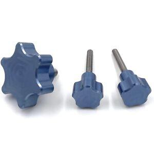 OrangeMade USA Mono-X Knob Upgrade Kit for Anycubic Photon Mono X (Blue)