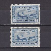 CANADA 1942, SG# 399-400, CV £37, MH