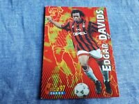 Trading card Calcio Panini 97 N°72 EDGAR DAVIDS MILAN Soccer