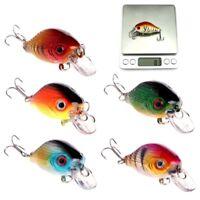 5.5cm 8g Bass Fishing Lures Crankbait Tackle Swimbait Wobblers Fishing Hard Bait