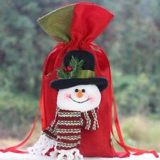 Merry Christmas Lovely Santa Sack Stocking Xmas Gift Present Bag Giant Xmas Bag
