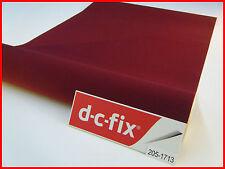 DC FIX Velour Burgundy Felt 1m x 45cm Contact Paper Plastic Self Adhesive Vinyl