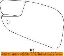 Ford Oem 11-16 Fiesta Door Rear Side View-Mirror Glass Left Be8Z17K707D