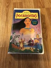 Sealed Pocahontas Vhs 1994 Walt Disney Masterpiece Collection - 2nd Copy