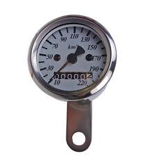 Chrom Mini Tachometer Speedometer 48 mm Motorradtacho für Japan und US Modelle