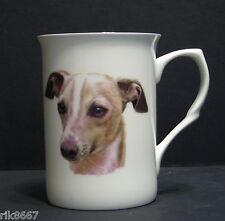 Italian Greyhound  Dog (Head BF) Fine Bone China Mug Cup Beaker
