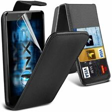 Apple iphone 4 4s PU Leather wallet flip case pouch cover Black