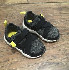 Carter's Ninja Baby Boy/Toddler Sneakers Size 4 EUC Velcro Closure Lightweight