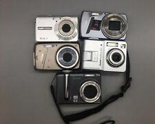 Lot of 5 Kodak Digital Cameras For Parts/Repair - Sold As-Is *Fast Free Ship*B28