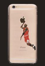 NBA stars Jordan transparent silica gel case for Iphone7 Plus White1
