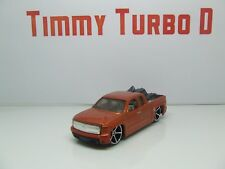 HOT WHEELS CHEVY SILVERADO PICK UP WITH MOTORBIKE 85 MM LONG D