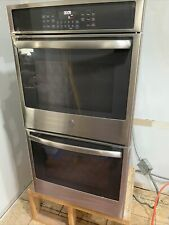 """Ge Jk5500Sfss 27"""" Stainless Steel Built-In Double Convection Wall Oven"""