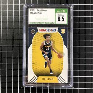 CSG 8.5 ZEKE NNAJI 2020-21 Panini NBA Hoops Basketball RC Rookie Card