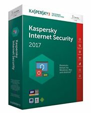 WOW Kaspersky Internet Security 2017 3user