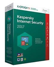 WOW Kaspersky Internet Security 2017 3user