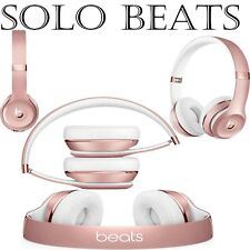 Beats by Dr. Dre Solo 3 Wireless Headphones - Rose Gold NEW, BOXED AND SEALED