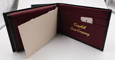 CAMPBELL'S ~ LEATHER WALLET ~ GEOFFREY BEENE ~ BI-FOLD ~ NEW ~ CAMPBELL SOUP CO
