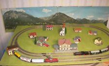 Fleischmann HO Eisenbahnanlage 1,6 x 1,0m mit 2 Zügen
