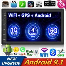 2 Din 7'' Android 9.1 Pantalla táctil Radio para coche Reproductor MP5 GPS WIFI