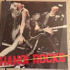 HANOI ROCKS - Bangkok Shocks Saigon Shakes original - SEALED vinyl 1983  UK