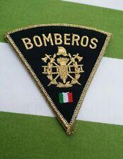 MEXICO Feuerwehr Offizier orig.Fire Brigade Stoffabzeichen Ärmelabzeichen
