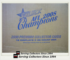 2008 Select AFL Champions Tradubg Cards Factory Case (12 boxes+ Case Card)-Rare