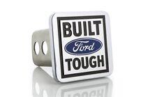 """Ford Built Tough Trailer Tow Hitch Cover Plug Emblem 2"""" Receiver Tow Plug Cap"""