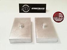 """StreetRays 99-17 Ford F250 1"""" Rear Lift Blocks SuperDuty Kit 2WD & 4WD (USA)"""