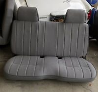 TOYOTA Bench Seat Covers KIT For 1987 94 Pick Up W/ Hog Rings