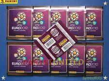 Panini★EURO 2012 EM 12★10x Glitzer-Tüten/packets/bustine Int. Version - MEGA-RAR