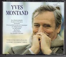 COFFRET 2 CD YVES MONTAND 36 TITRES