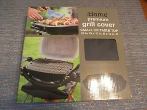 """Outdoor Home Premium Black  Grill Cover-26"""" W X 17"""" D X 12"""" H NEW in Box"""