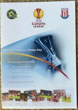 Maccabi  v  Stoke City programme Europa League 2011-12 3 Nov 2011
