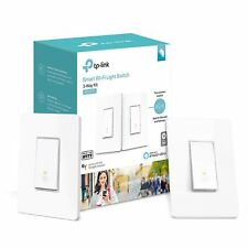 TP-Link Smart Wi-Fi Light Switch for 3-Way Lighting, No Hub Required (HS210 KIT)
