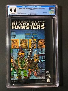 Adolescent Radioactive Black Belt Hamsters #2 CGC 9.4 (1986)