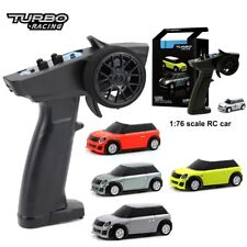 Racing 1:76 RC Car Mini Full Proportional Electric Race RTR Car Kit 2.4GHZ Toys