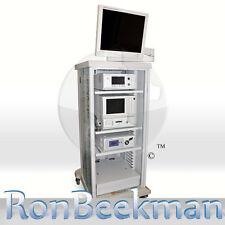 "STRYKER 1088 Laparoscopy Tower X7000 SDC-HD 40L 21"" Monitor Endoscopy Endoscopic"