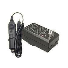 Battery Charger for Vivitar DVR-940HD DVR940HD NP-40 NP40 PAC-0040 PAC0040 CNP40
