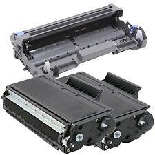 1 x DR520 Drum + 2 x TN580 Toner for Brother HL-5240 HL-5250 HL-5270DN HL-5280