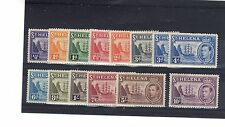 St Helena 1938-44 set to 10s LMM/MM